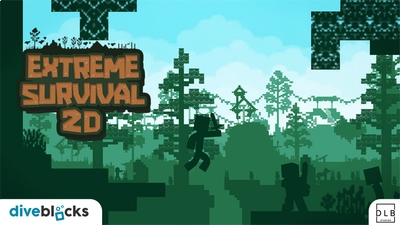Extreme Survival 2D on the Minecraft Marketplace by Diveblocks