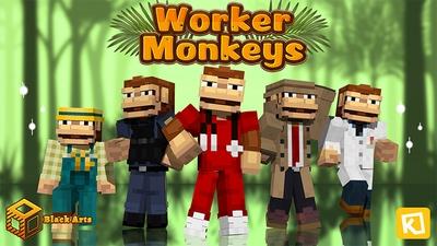 Worker Monkeys on the Minecraft Marketplace by Black Arts Studios