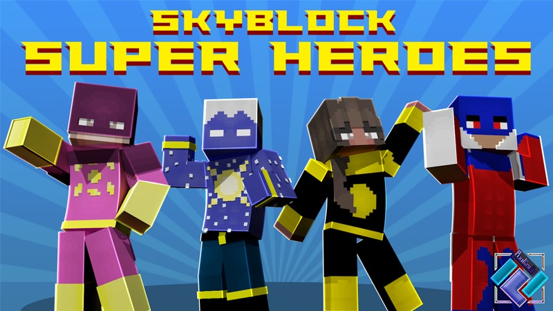 Skyblock Super Heros on the Minecraft Marketplace by PixelOneUp