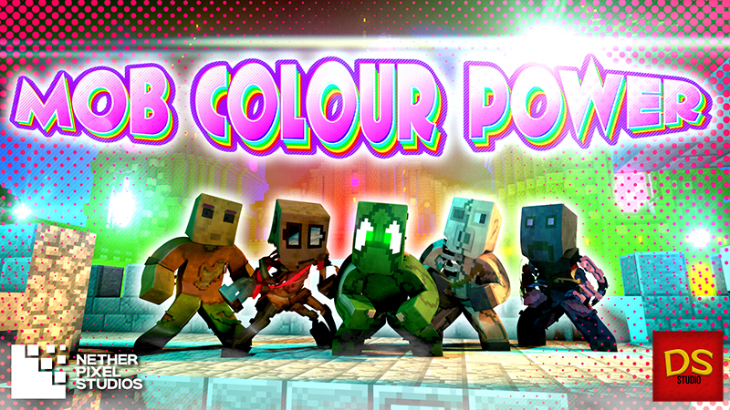 Mob Colour Power on the Minecraft Marketplace by Netherpixel