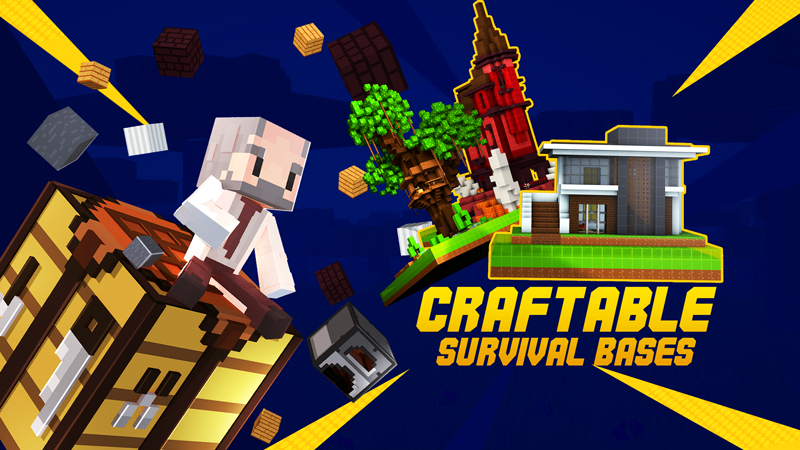 Craftable Survival Bases on the Minecraft Marketplace by Kubo Studios