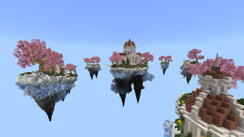 Lucky Skyblock Heaven on the Minecraft Marketplace by RareLoot