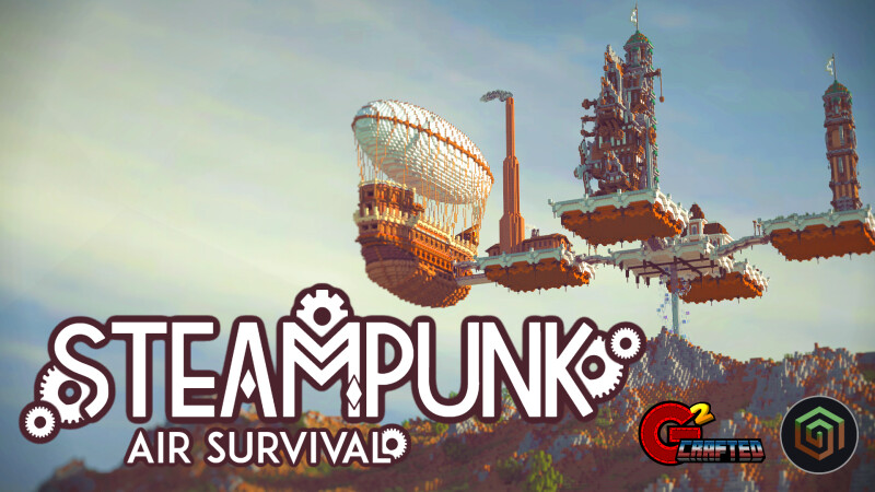 Steampunk Air Survival on the Minecraft Marketplace by G2Crafted