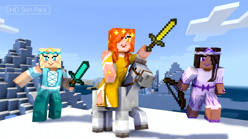 Princess and Prince Skins on the Minecraft Marketplace by Arrow Art Games