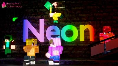 Neon on the Minecraft Marketplace by Shaliquinn's Schematics
