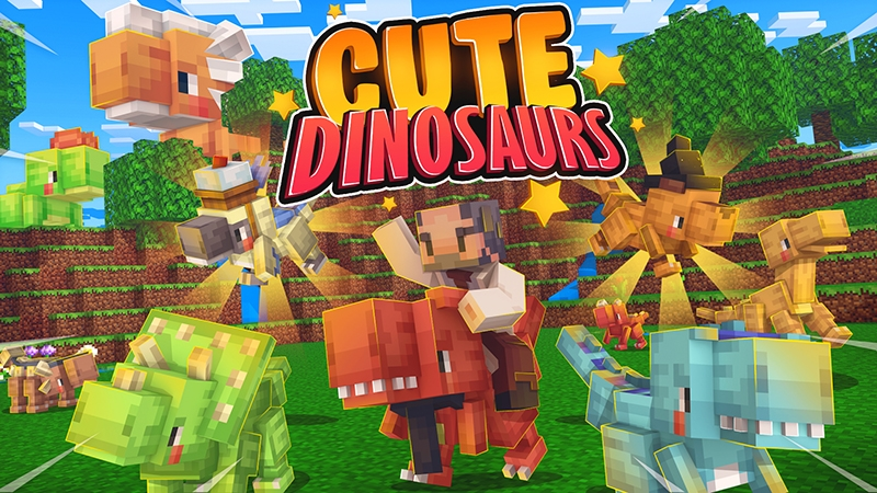 Cute Dinosaurs on the Minecraft Marketplace by Kubo Studios