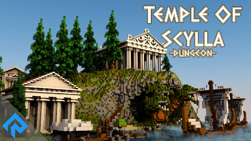 Temple of Scylla on the Minecraft Marketplace by RareLoot