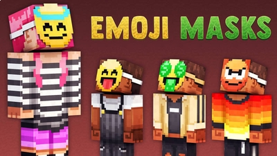 Emoji Masks on the Minecraft Marketplace by 57Digital