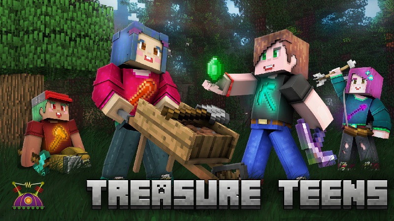 Treasure Teens on the Minecraft Marketplace by Cleverlike