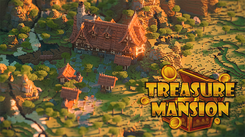 Treasure Mansion on the Minecraft Marketplace by Diluvian
