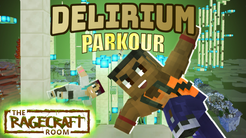 Delirium Parkour on the Minecraft Marketplace by The Rage Craft Room