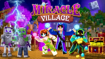 Miracle Village on the Minecraft Marketplace by BLOCKLAB Studios