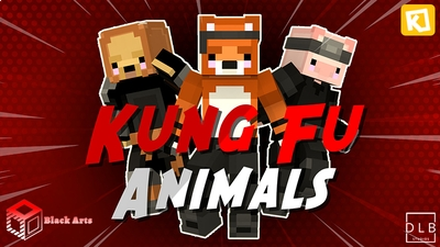 Kung Fu Animals on the Minecraft Marketplace by Black Arts Studios