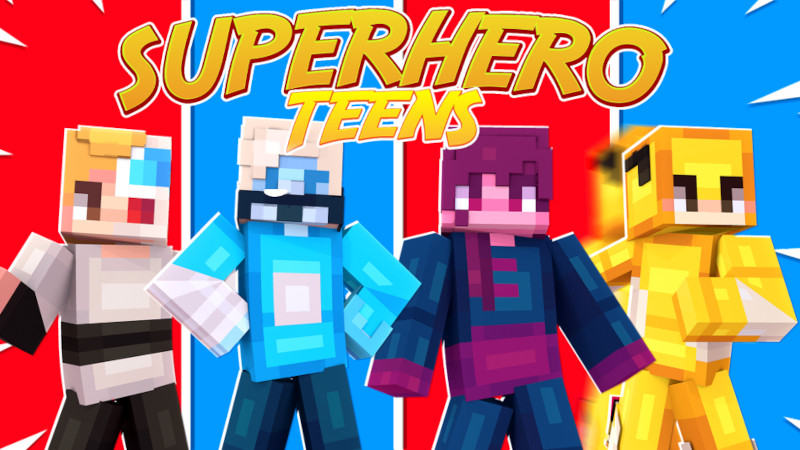 Superhero Teens on the Minecraft Marketplace by Cynosia