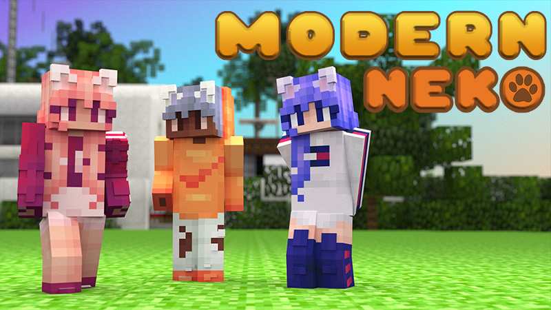 Modern Neko on the Minecraft Marketplace by 4KS Studios
