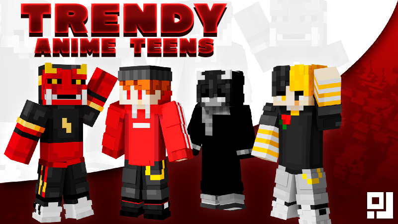 Trendy Anime Teens on the Minecraft Marketplace by inPixel