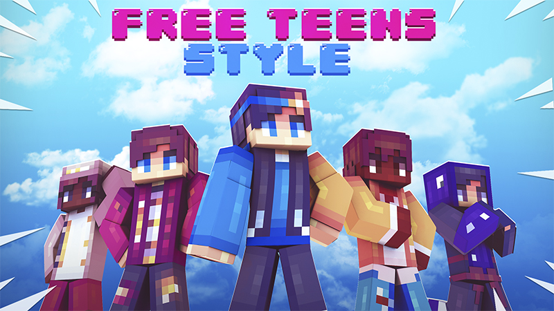 Free Teens Style on the Minecraft Marketplace by Kubo Studios