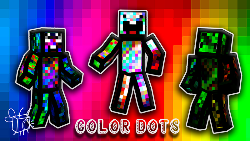 Color Dots on the Minecraft Marketplace by Blu Shutter Bug