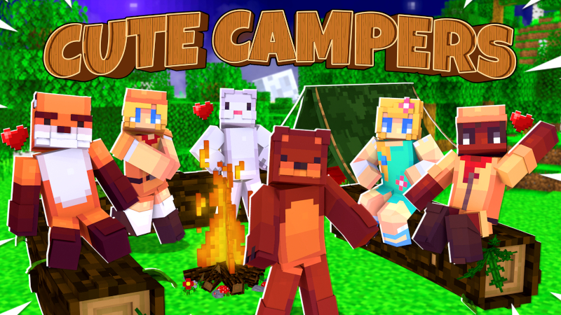 Cute Camper Friends on the Minecraft Marketplace by Cynosia