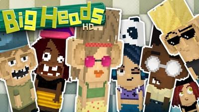 Jolicrafts Big Heads HD on the Minecraft Marketplace by Jolicraft