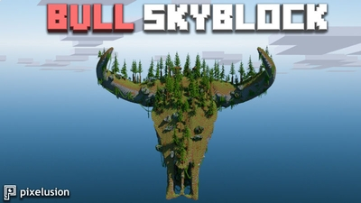 Bull Skyblock on the Minecraft Marketplace by Pixelusion