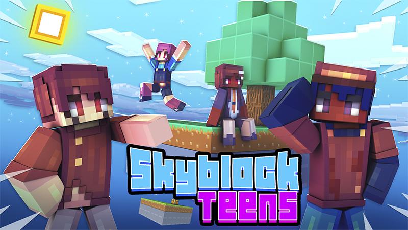Skyblock Teens on the Minecraft Marketplace by Kubo Studios