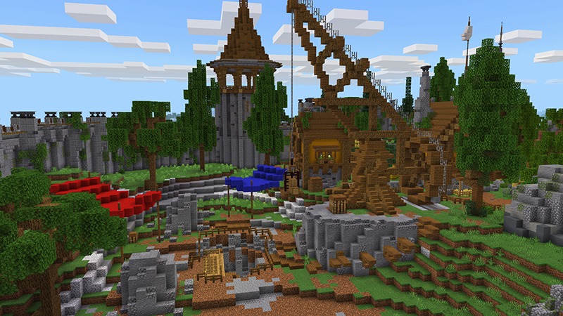 Lost Kingdom on the Minecraft Marketplace by Diluvian