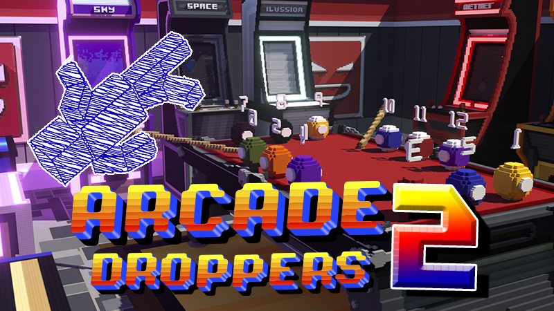 Arcade Droppers 2 on the Minecraft Marketplace by Giggle Block Studios