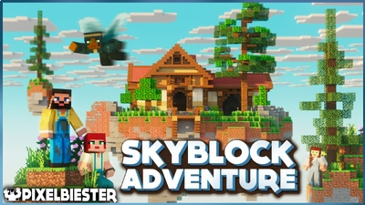 Skyblock Adventure on the Minecraft Marketplace by Pixelbiester