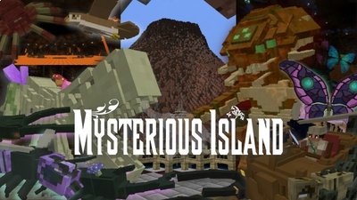 Mysterious Island on the Minecraft Marketplace by Vernian LEMO