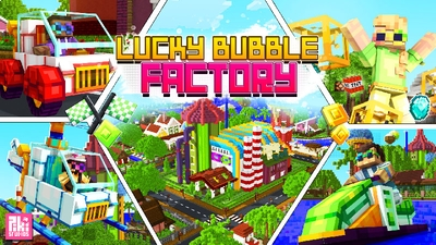 Lucky Bubble Factory on the Minecraft Marketplace by Piki Studios