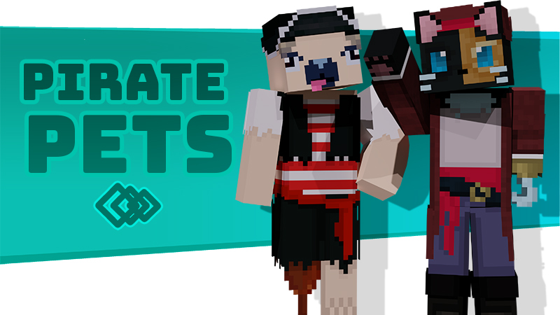 Pirate Pets on the Minecraft Marketplace by Tetrascape