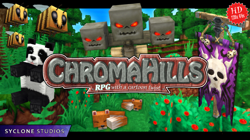 Chroma Hills HD on the Minecraft Marketplace by Syclone Studios