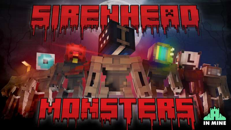 Sirenhead Monsters on the Minecraft Marketplace by In Mine