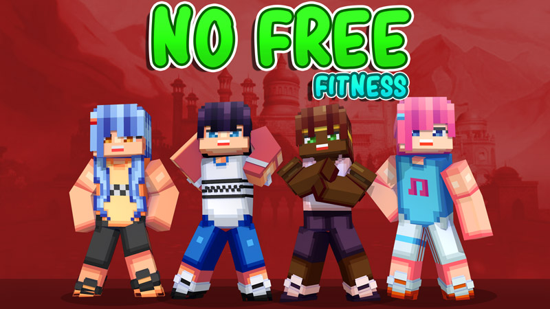 No Free Fitness on the Minecraft Marketplace by Dark Lab Creations