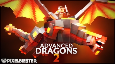 Advanced Dragons 2 on the Minecraft Marketplace by Pixelbiester