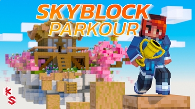 Skyblock Parkour on the Minecraft Marketplace by Kreatik Studios
