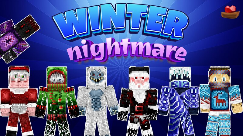 Winter Nightmare HD on the Minecraft Marketplace by Lifeboat