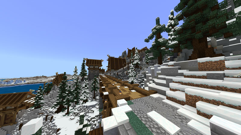 Arctic Cliffs on the Minecraft Marketplace by Blockception