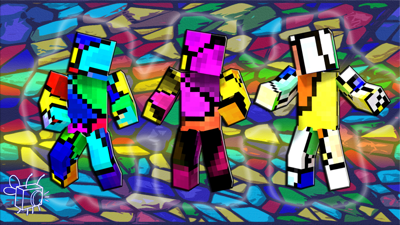 Stained Glass on the Minecraft Marketplace by Blu Shutter Bug