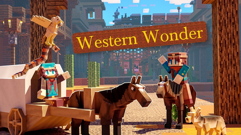 Western Wonder on the Minecraft Marketplace by Nitric Concepts