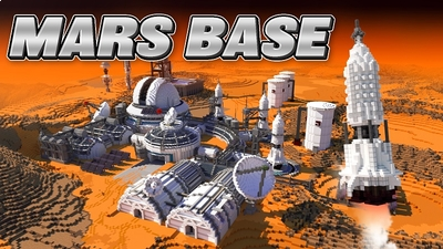Mars Base on the Minecraft Marketplace by BBB Studios