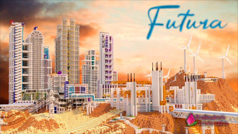 Futura on the Minecraft Marketplace by Shaliquinn's Schematics