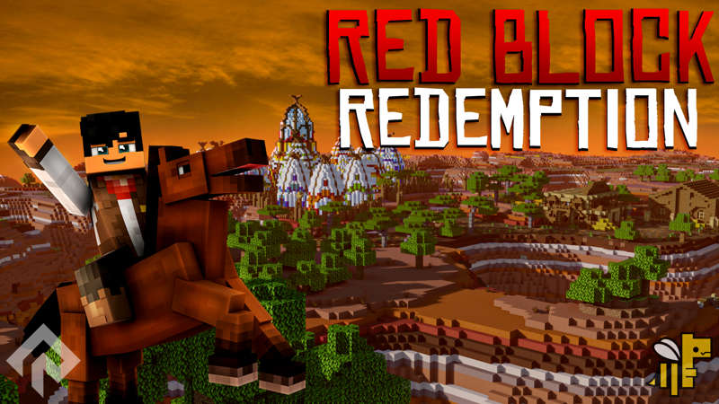 Red Block Redemption on the Minecraft Marketplace by RareLoot