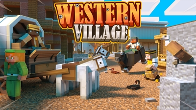 Western Village on the Minecraft Marketplace by Norvale