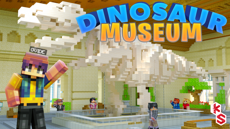 Dinosaur Museum on the Minecraft Marketplace by Kreatik Studios