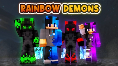 Rainbow Demons on the Minecraft Marketplace by BLOCKLAB Studios