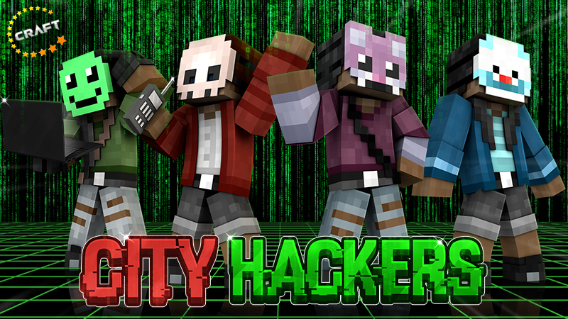 City Hackers on the Minecraft Marketplace by The Craft Stars