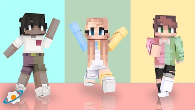 Color Block Teens on the Minecraft Marketplace by NovaEGG