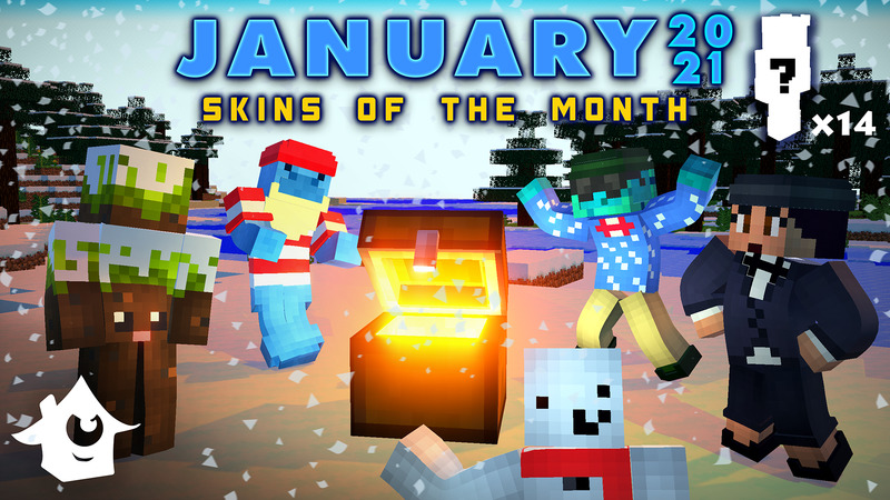 Skins of the Month  January  on the Minecraft Marketplace by House of How
